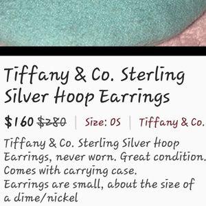 Tiffany & Co SS Earrings